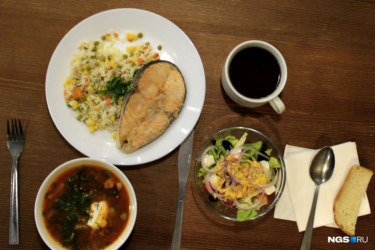 Обед в «Подсолнухах» за 339 рублей