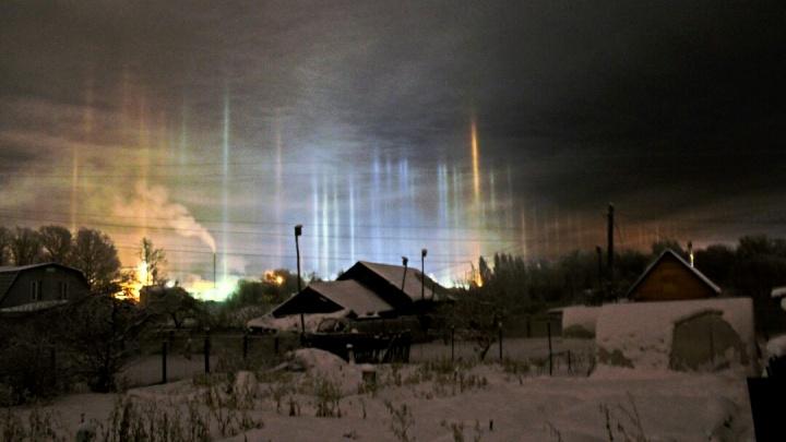 Жители Ярославской области успели снять на фото редкое природное явление