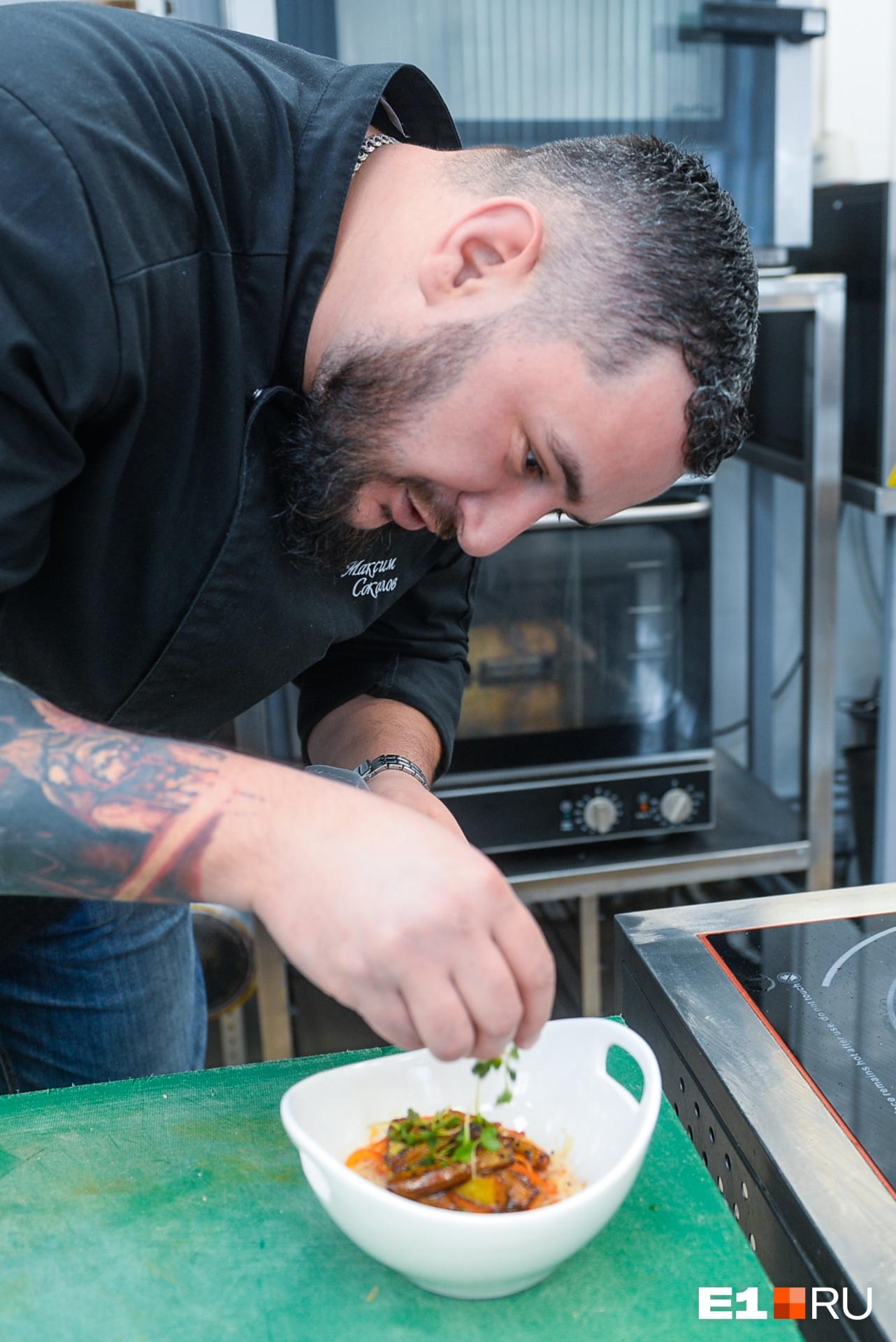 Кто кормит город: история бывшего гаишника, ставшего шеф-поваром «Своей компании»