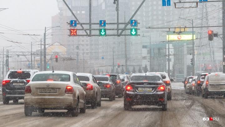 Разбавят: в Самаре будут экономить антигололедный реагент на дорогах