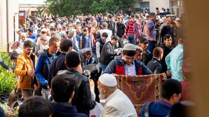 Ураза-байрам в Ярославле: как мусульмане отмечают праздник на улицах города