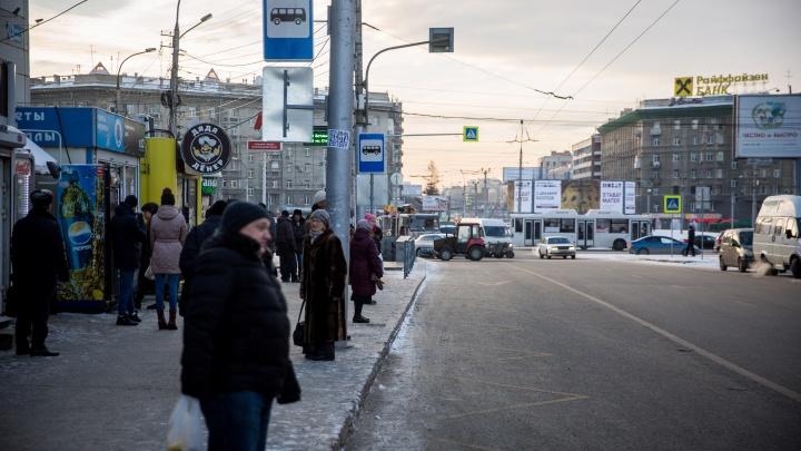 С площади Калинина убрали остановку бесплатного автобуса до «Большой Медведицы»