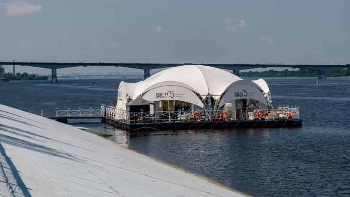 В Перми приставы опечатали ресторан на воде «Причал № 5»