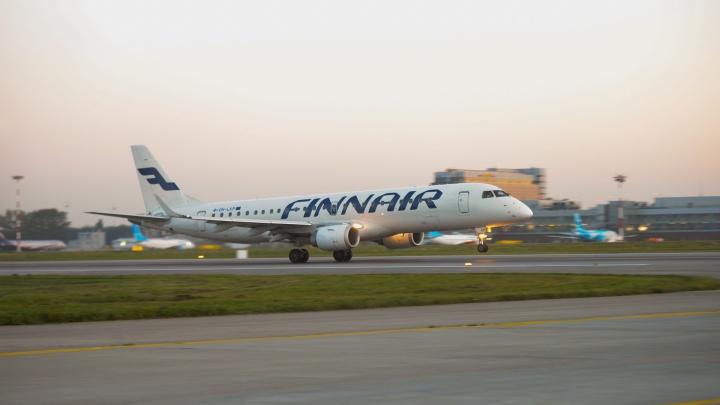 Крупный авиаперевозчик Finnair уйдет из Екатеринбурга из-за низкого спроса