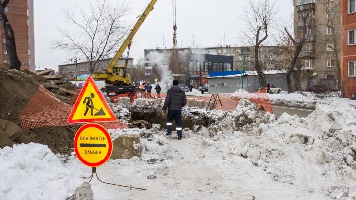 Улицу возле Павловского сквера закрыли для проезда на 10 дней