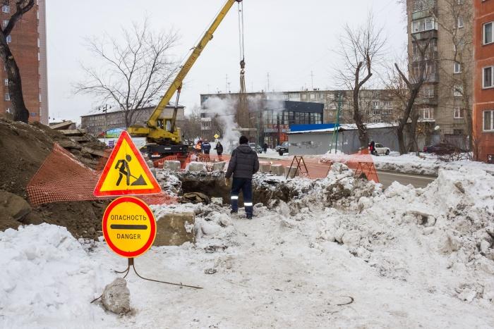Дорогу закроют для проезда из-за ремонта теплотрассы