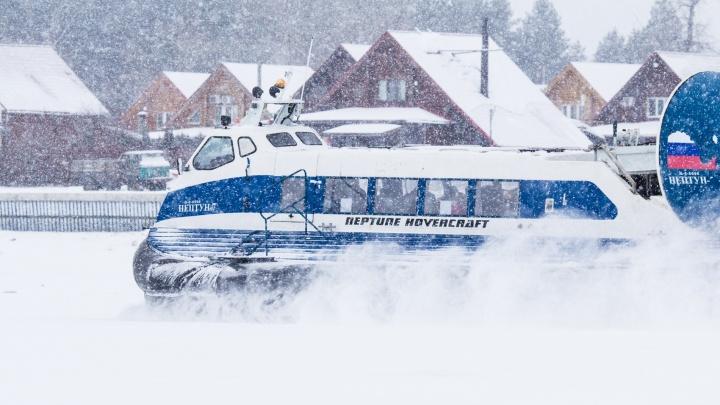 В Самаре изменили расписание зимней переправы через Волгу