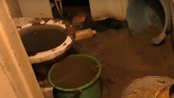 Жильцам дома в поселке Башкирии, где подвал затопило фекалиями, грозят уголовным делом