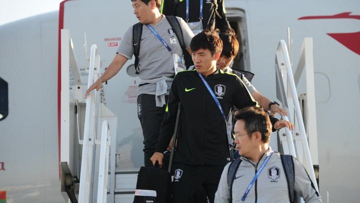 Сборная Южной Кореи прилетела в Ростов