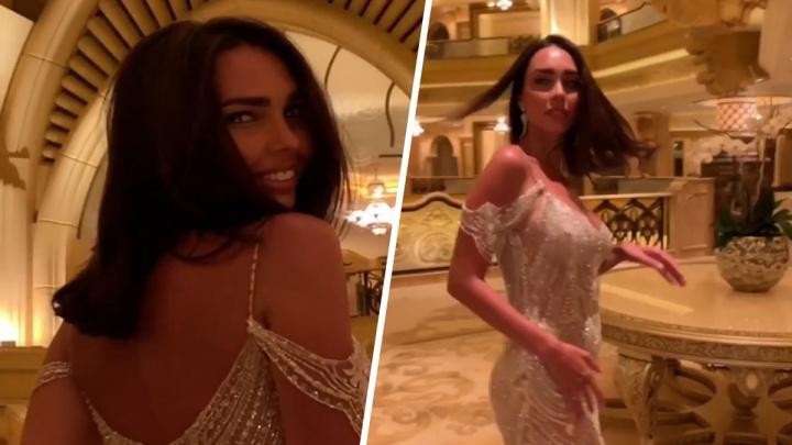 Жена самарского олигарха Шаповалова показала полупрозрачный наряд для конкурса «Миссис мира»