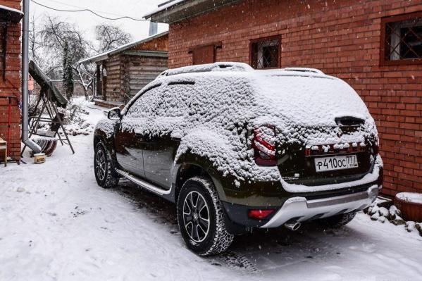 Снежная шапка может образоваться не только снаружи автомобиля