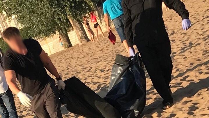 Очевидцы: «На пляже в Самаре нашли погибшую женщину»