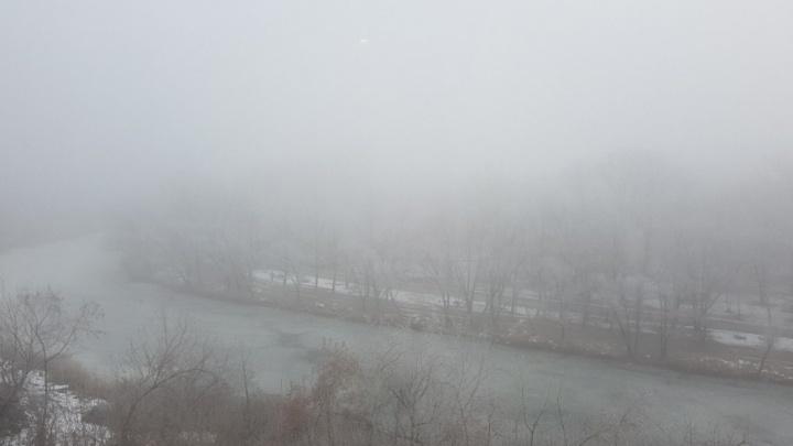 Туманный Альбион — сегодня это про Курган: самолет из Москвы не смог приземлиться из-за тумана