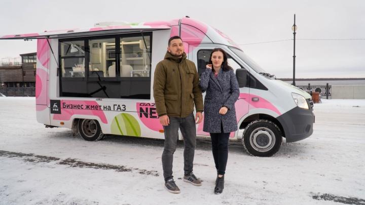 На ноготочки — в «Газель»: архангелогородцы открывают первую в России студию маникюра на колесах