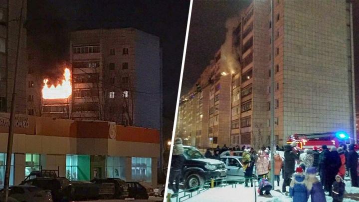 Сгорели окна, мебель, кухня, три балкона: как тюменцы судятся из-за новогоднего пожара от петарды