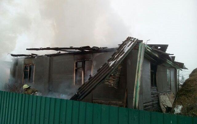 В башкирском поселке мать с сыном погибли в пожаре из-за сигареты