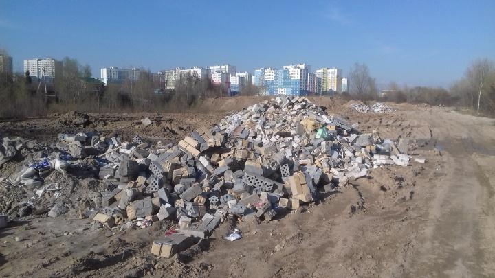 Свалка на берегу Оки: жители Автозавода видят, чиновники — нет