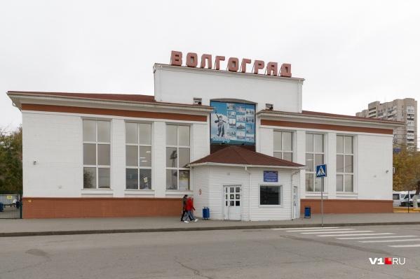 Автобусы предприятия отправлялись в Камышин с центрального автовокзала