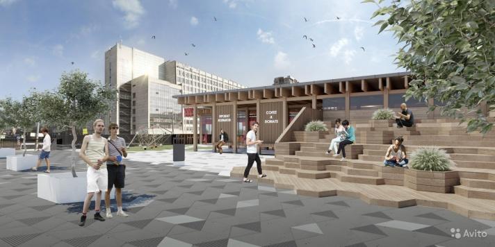 Нынешние владельцы ТК «Курчатов» разрабатывают свою концепцию застройки крыши