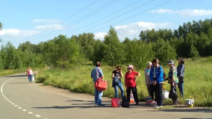 «Люди стоят на дороге»: на садовых маршрутах Челябинска сократили остановки
