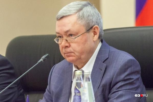 Александр Нефёдов 12 лет был председателем самарского правительства