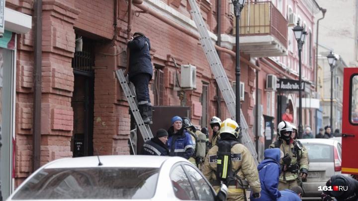 При пожаре на Шаумяна в Ростове погиб человек