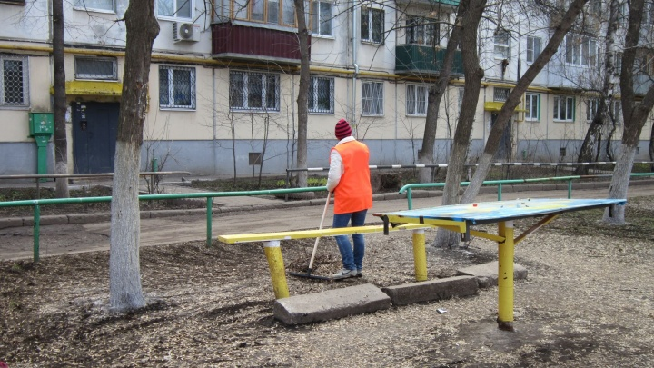В Самаре дворники подрались из-за качества уборки придомовой территории