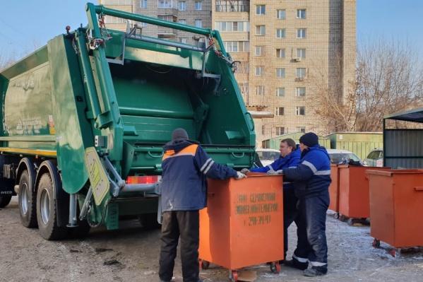 На сегодняшний день на левом берегу Красноярска не хватает порядка 2000 контейнеров