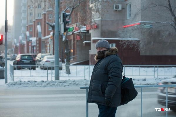 Столбики термометров преодолели отметку в 30 градусов мороза