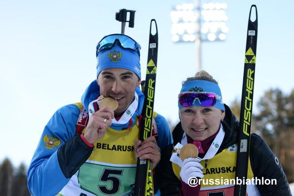 Россияне пришли к финишу с большим отрывом от соперников