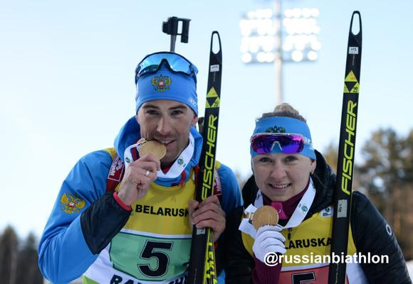 Новосибирская биатлонистка промахнулась 4 раза, но все равно выиграла эстафету чемпионата Европы