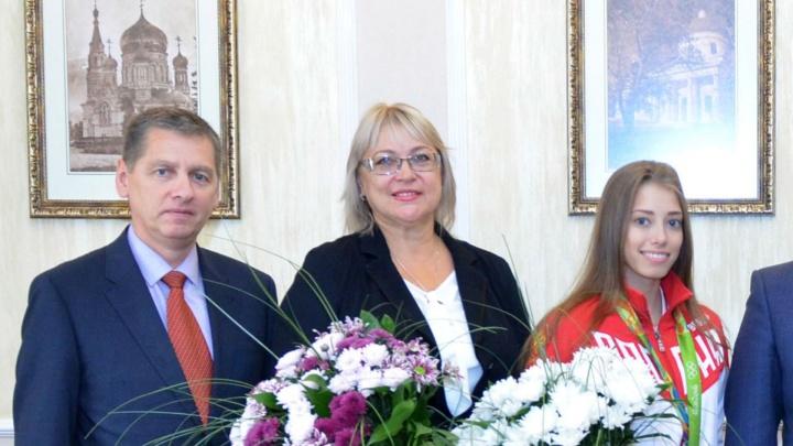 Президент наградил омского тренера по художественной гимнастике