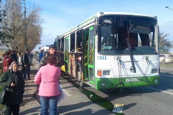 Террористка взорвала наполненный пассажирами автобус в 14:05