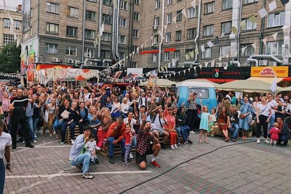 Первый арт-фуд фестиваль «Вилка» прошел в Новосибирске летом 2019 года