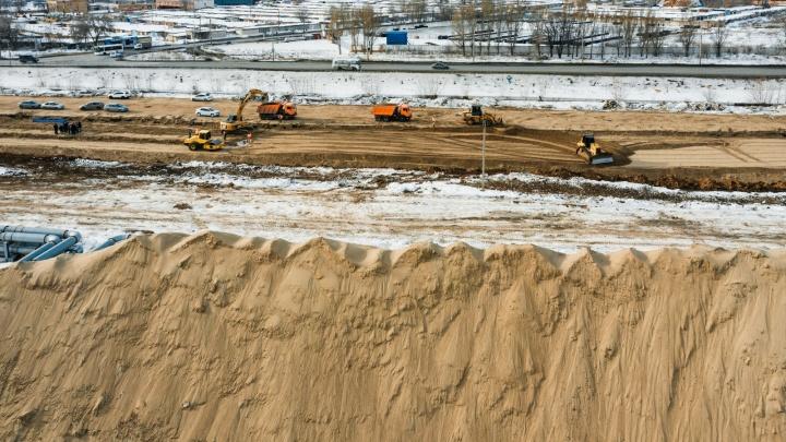 Фрунзенский мост — 2: район улицы Утевской начали готовить к строительству многоуровневой развязки