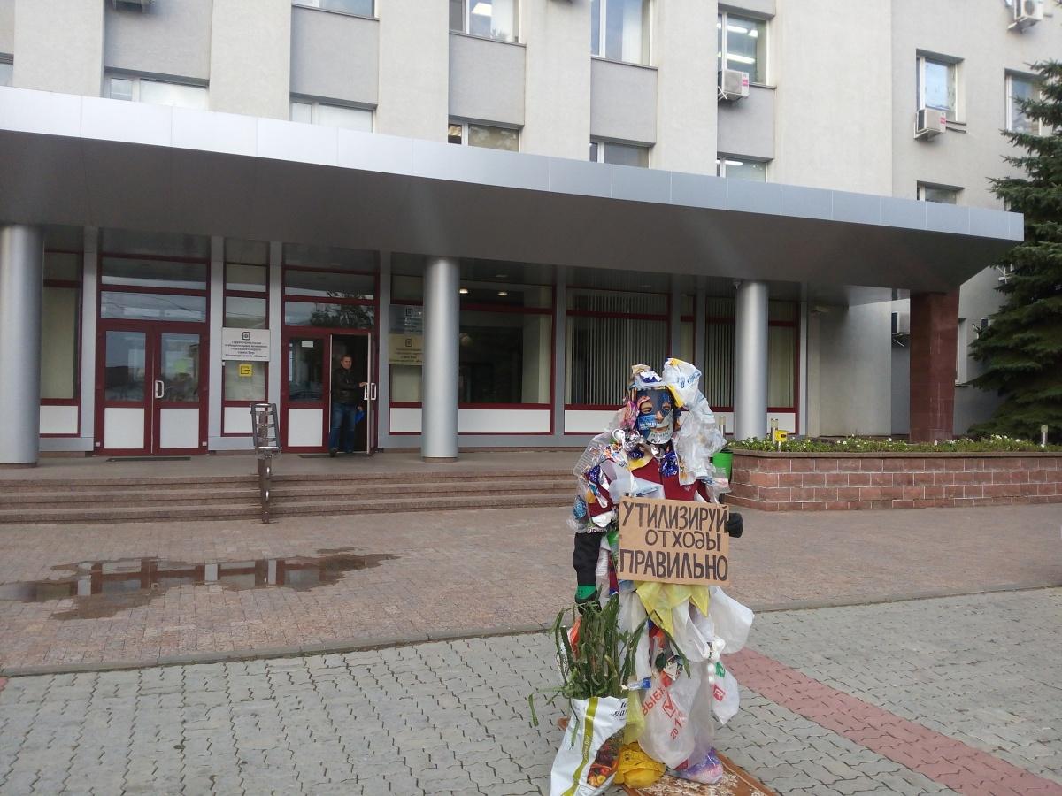 Эколог-активист призвал нижегородцев не забывать о раздельном сборе мусора