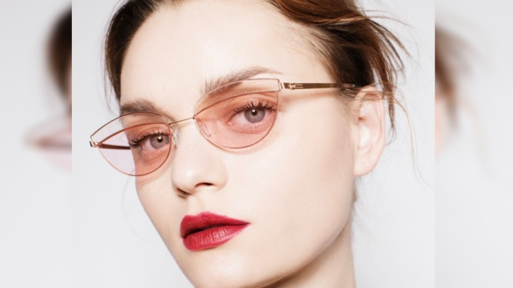 Красноярская модель снялась в рекламе немецкого бренда очков