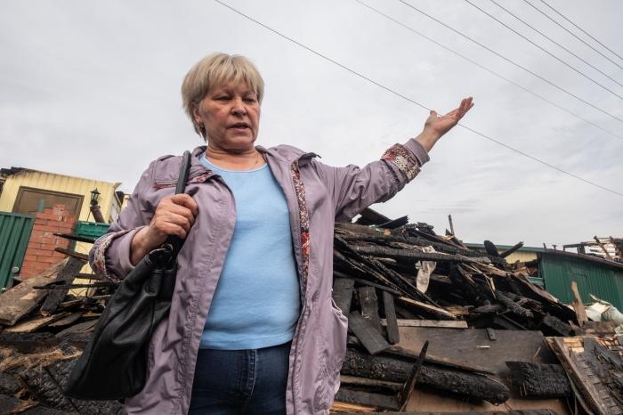 Лариса Марьясова выставила огромный дом на продажу, а через два месяца семья осталась без крова