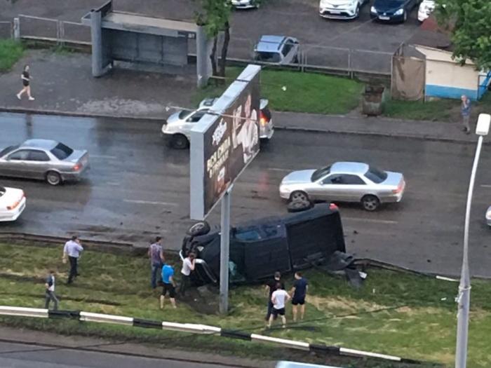 ДТП произошло напротив дома  №4/3 на улице Серебренниковской