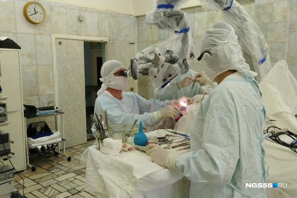 Операция шла четыре часа