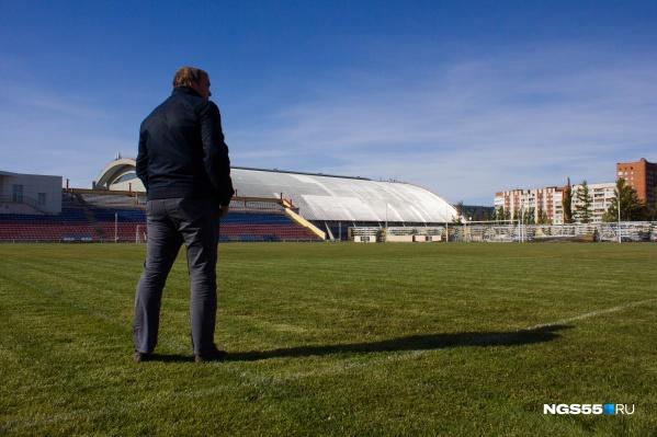Необозримые просторы «Красной звезды» ждут, когда большой футбол снова вернётся к ним