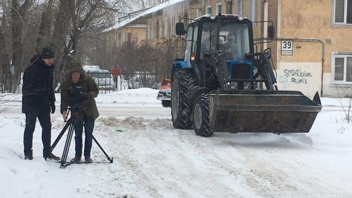 Снежный Красноярск оказался на кадрах нового фильма «Ёлки» вместо Нижнего Новгорода и Москвы