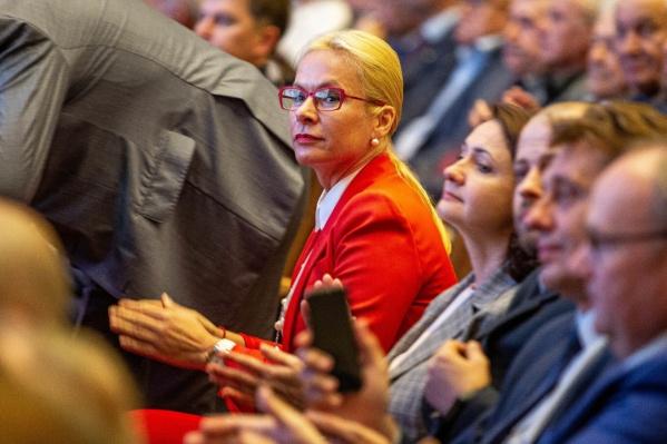 Анна Терешкова стала заместителем мэра Новосибирска, при этом она продолжит возглавлять профильный департамент