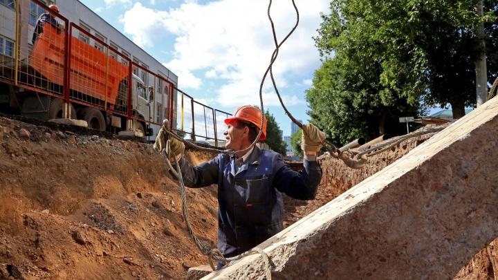В Уфе из-за аварии несколько домов остались без горячей воды