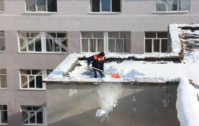 Какиедворыв Уфе очистят от снега 24 марта