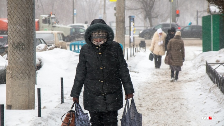Встречаем зиму: в Самарской области в начале недели похолодает