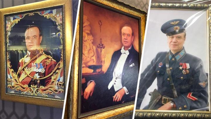 «Похоже на форму принца Гарри»: историки поспорили о костюмах на портретах Сергея Сидаша