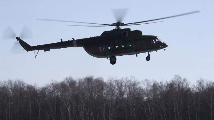 В Чечне потерпел крушение российский вертолёт, есть погибшие