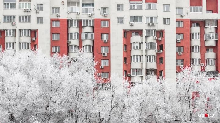 В Самарской области ожидаются аномальные морозы с температурой ниже климатической нормы