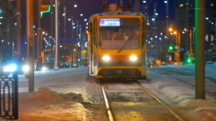 На улице Татищева отменили одну трамвайную остановку
